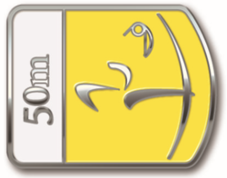 badge poulies FITA 50m