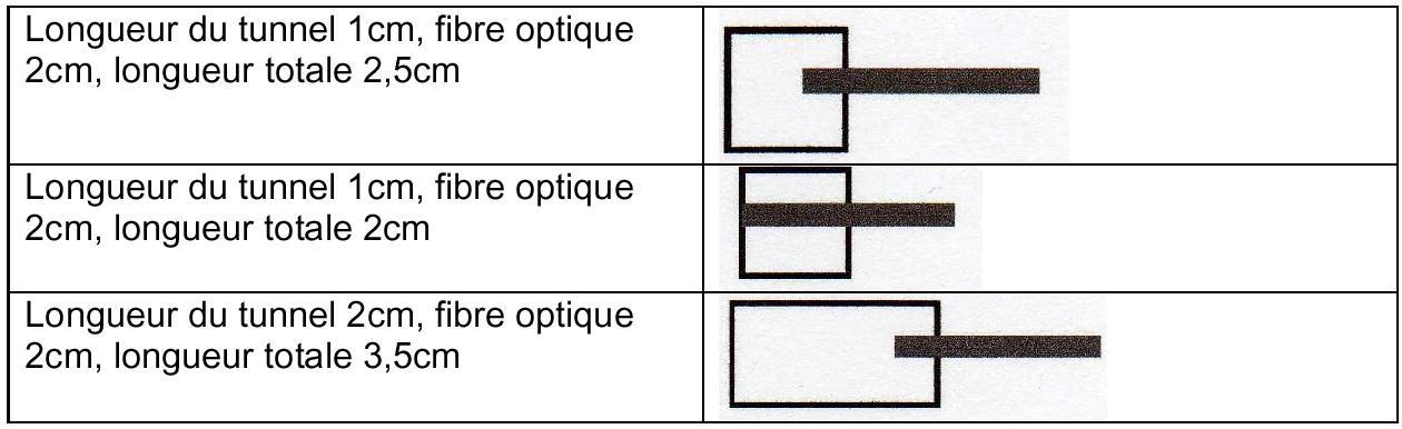viseur classique avec oeilleton et fibre < =2cm
